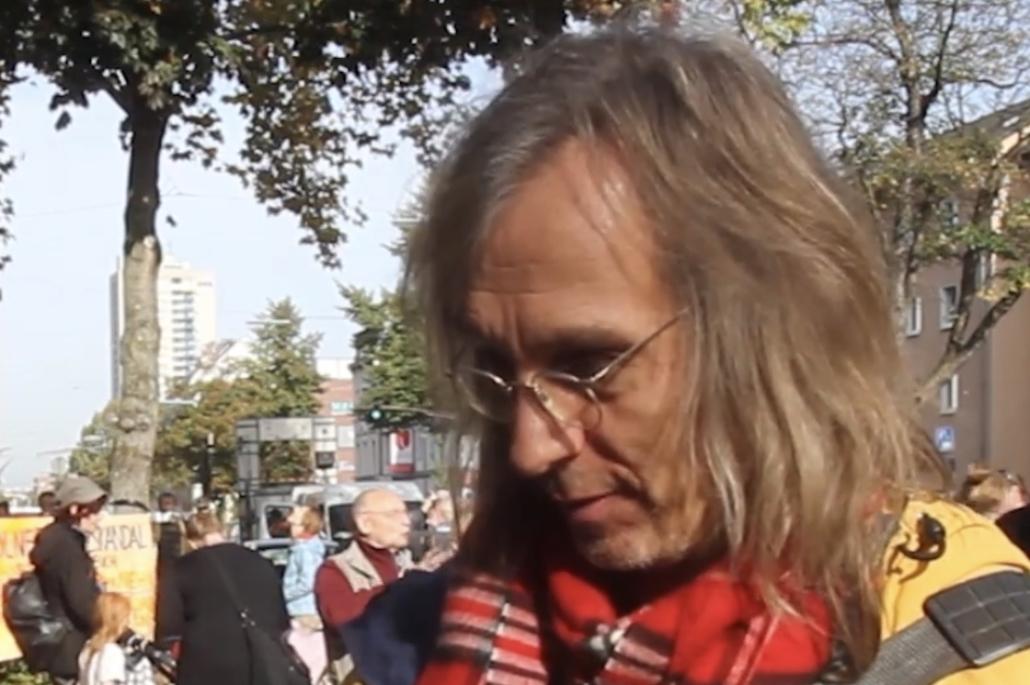 Ottmar Lattorf wird von AntiFa als Rechter eingestuft