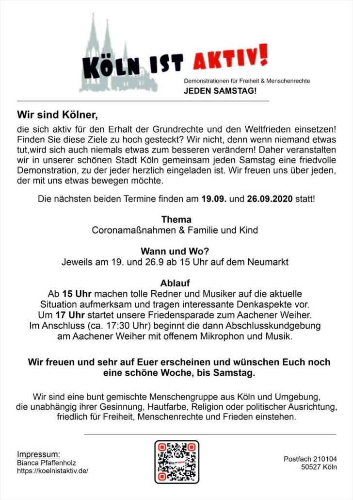 Köln ist aktiv