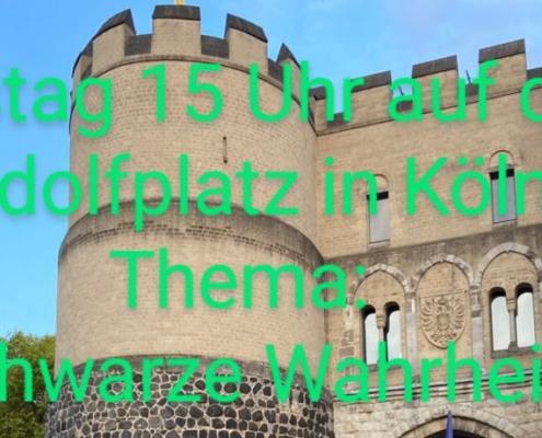 31.10.2020 Demo schwarze Wahrheit in Köln