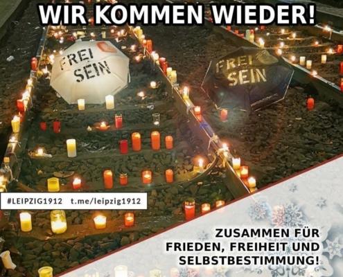 19.12.2020 Leipzig Demo